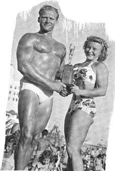 Historie soutěží: Mr. Muscle Beach