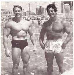 Arnold u Rega Parka