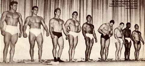 Fotky z minulosti - Mr. Universe 1947