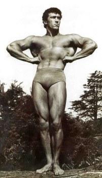 Portrét: Spencer Churchill, Mr. Muscles Unlimited