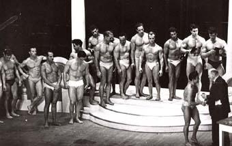 Fotky z archivu: NABBA Mr. Universe 1950