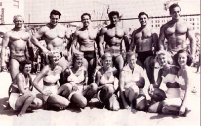 Fotky z archívu: Muscle Beach 1952
