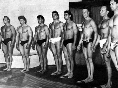 Fotky z archivu: NABBA 1953