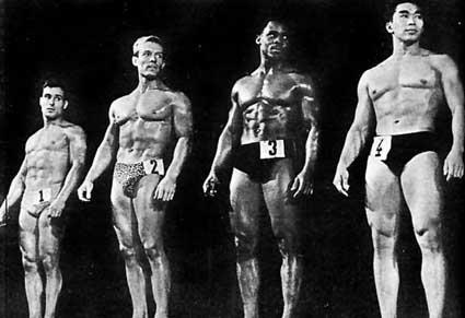 Fotky z archivu: FIHC Mr. World 1959