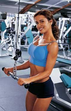 Flirt ve fitcentru a svalový růst