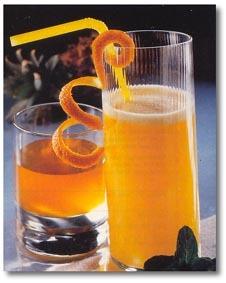 Medový ovocný fitness nápoj