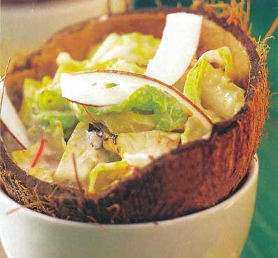 Kokosový šalát