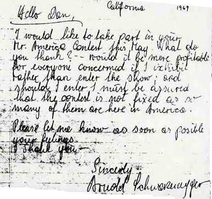 Fotky z minulosti: Arnoldův dopis