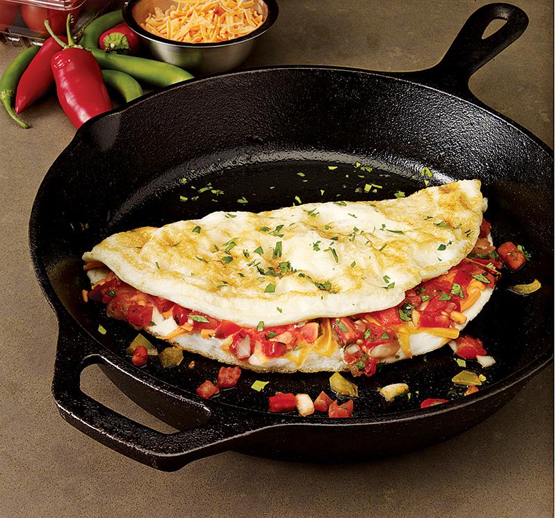 Španělská dietní omeleta