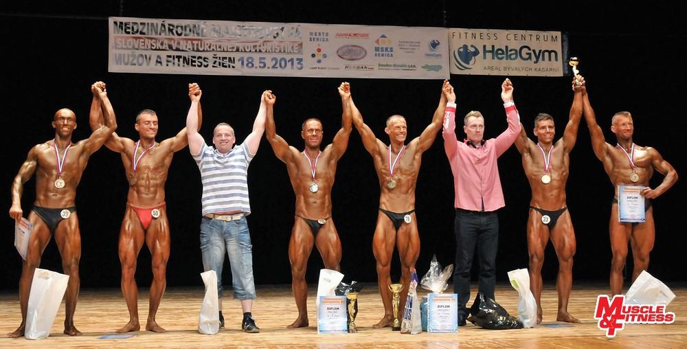 Muži do 180 cm: 6. Kukliš, 4. Boroš, 2. Vasiľ, 1. Velčický, 3. Ramšík, 5. Kypús.