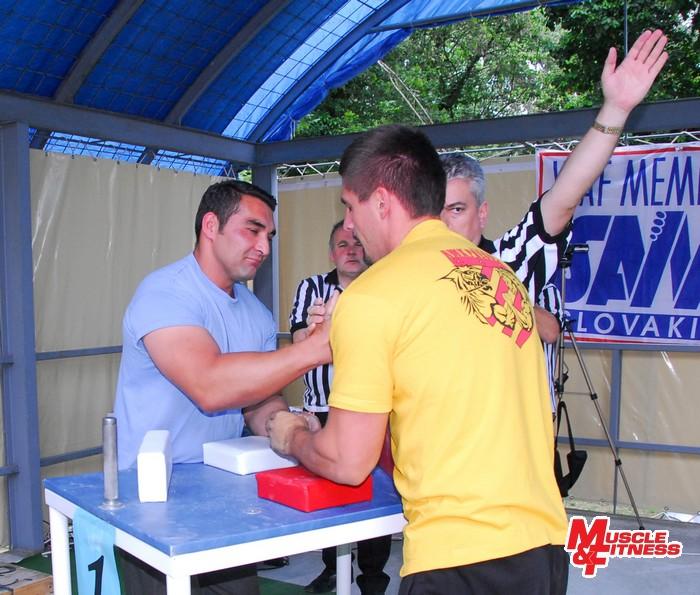 M-SR v armwrestlingu 2013