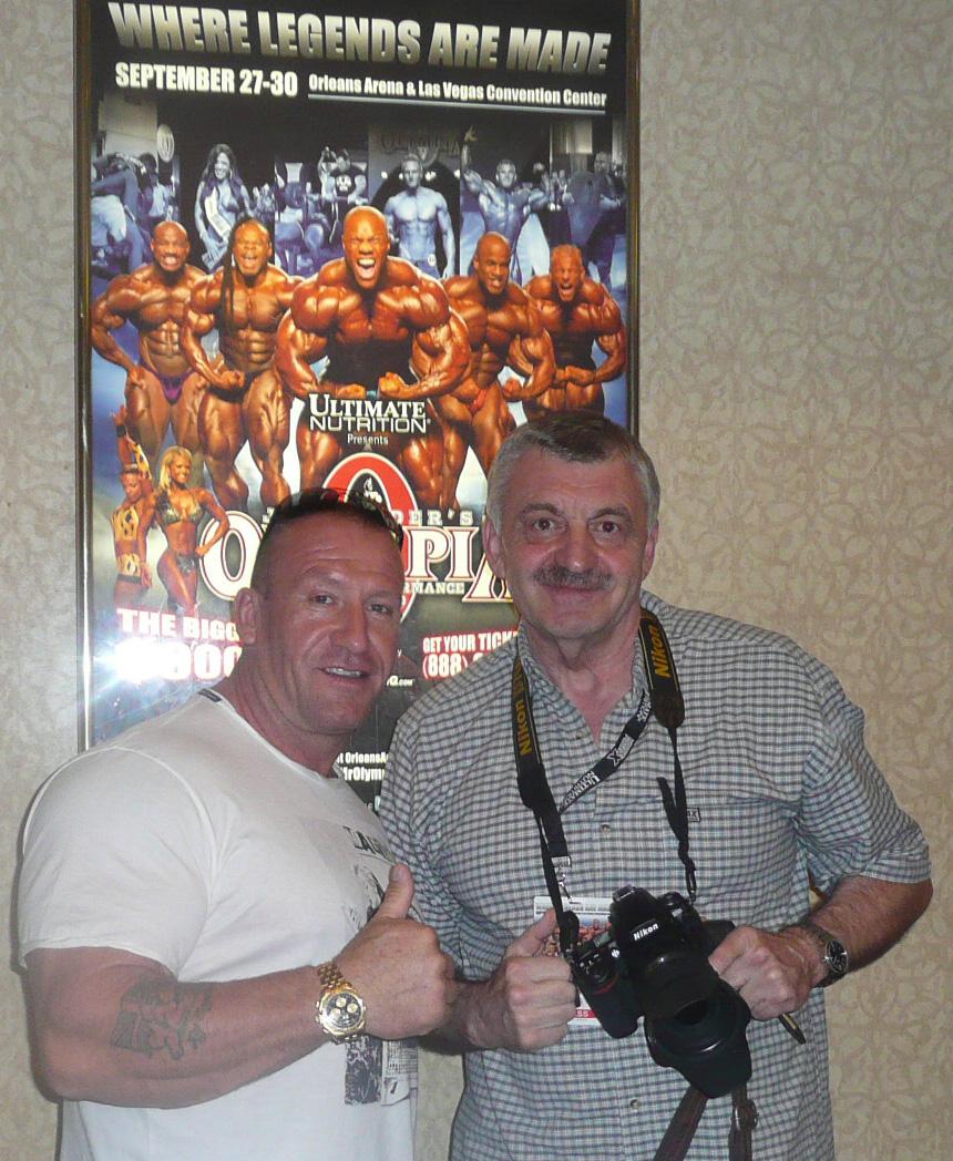 ...a na Olympia Weekendu 2012 v Las Vegas.