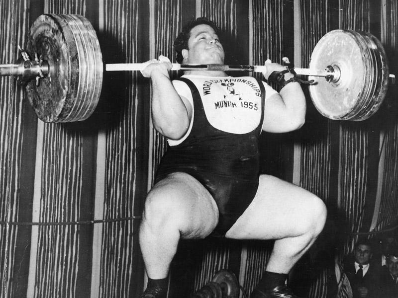 Paul Anderson - Mnichov 1955