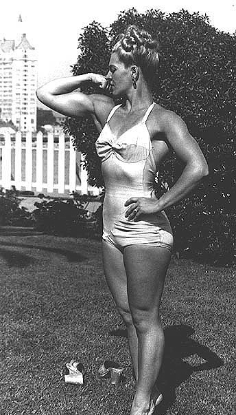 Síla ženských svalů