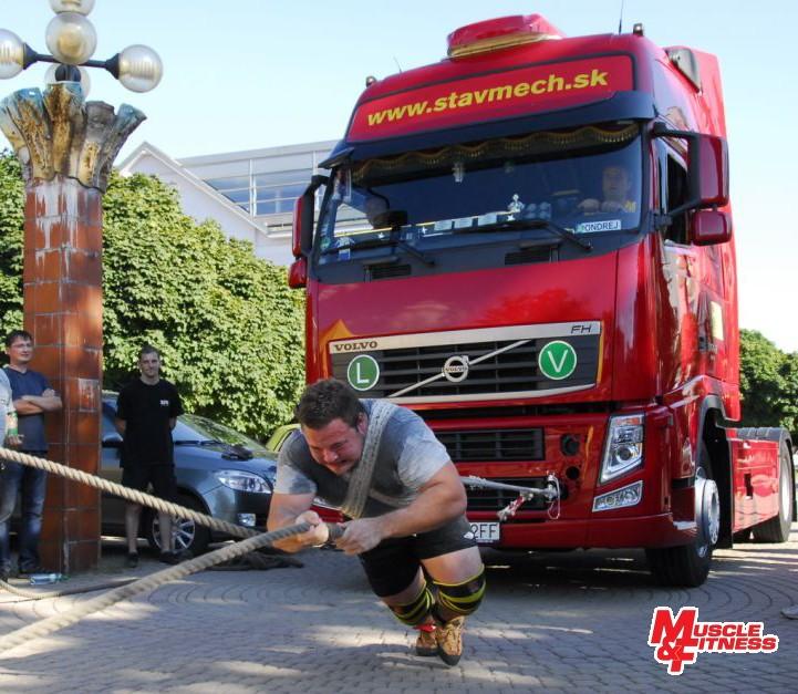 Matjaž Belšak (ťahanie kamióna)