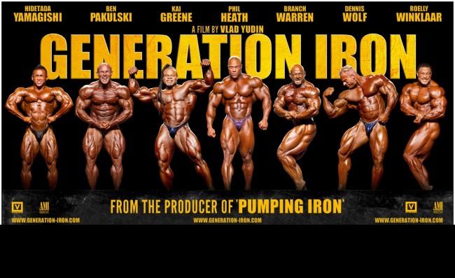 Generation Iron: Premiéra v USA 20. 9. (Trailer)