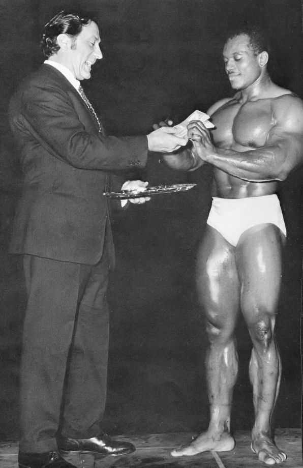 Joe Weider a Sergio Oliva