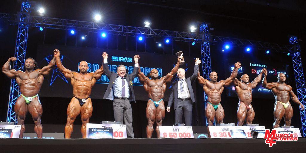 Finalisté zleva: Bonac, Warren, Rafael Santonja, Greene, Robert Speychal, Jackson, Smalls, Freeman.