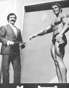 Joe Weider a Arnold