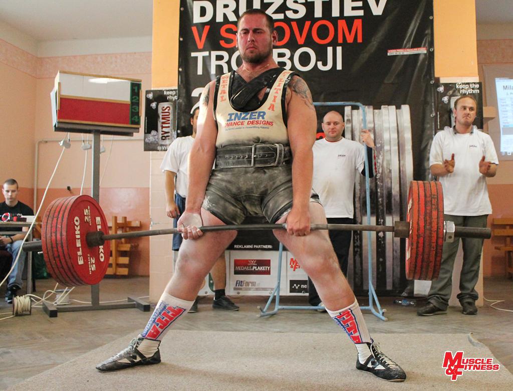 Milan Husár (mŕtvy ťah 285 kg)