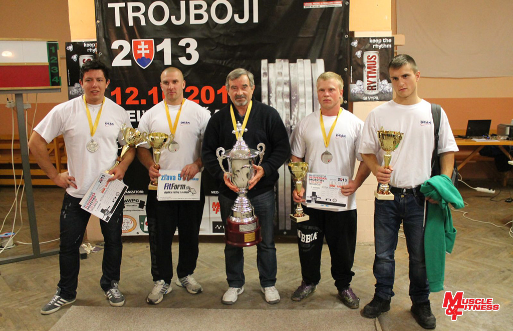 Víťazné družstvo M-SR open federácií, KSTaK Matej Bardejov.