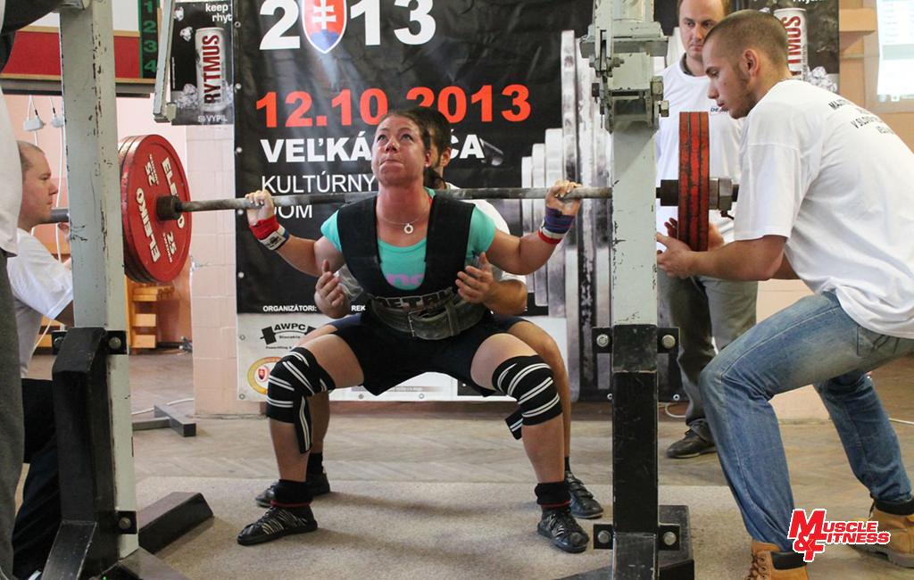 Sandra Mokrá (drep 180 kg)