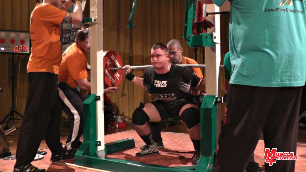 Pavel Vacek (dřep 300 kg)