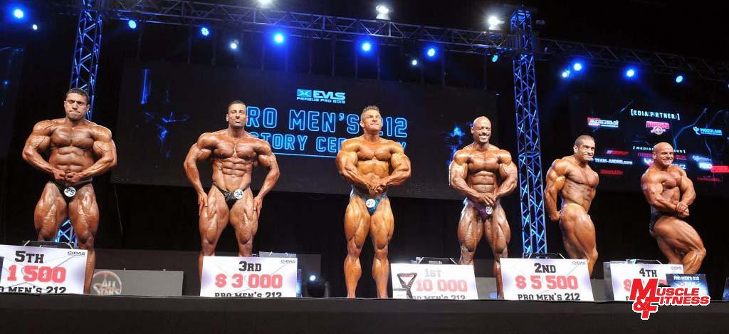 """Finalisté """"lehkých vah"""" (zleva: Hatami, Ahmad, Lewis, Al Haddad, Carrasco."""
