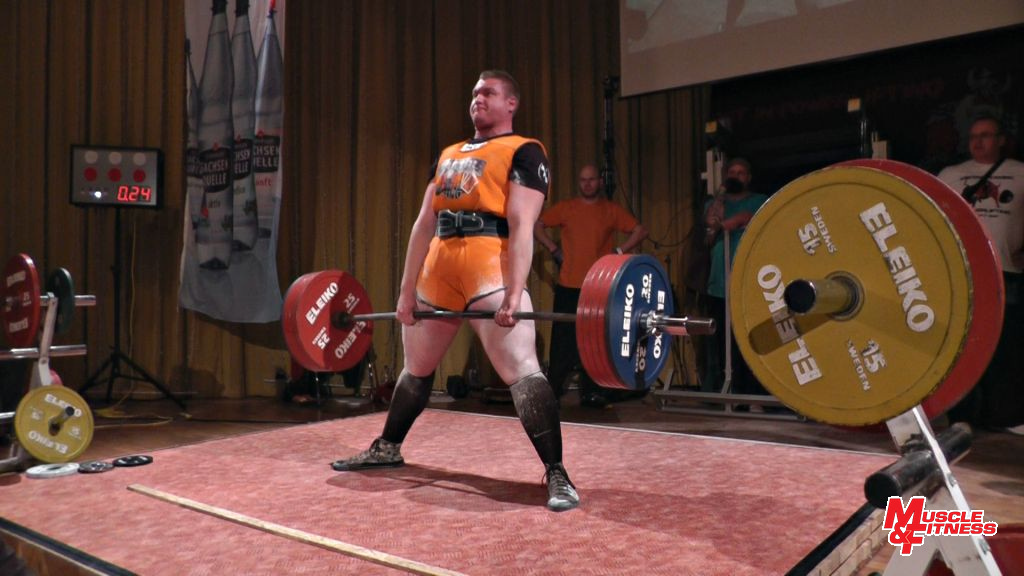 Pavel Vacek (mrtvý tah 265 kg)