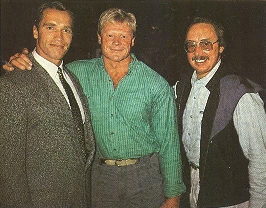 Arnold Schwarzenegger, Dave Draper, Albert Busek