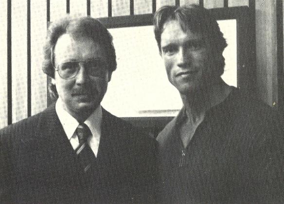 Albert Busek a Arnold Schwarzenegger