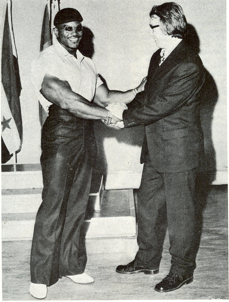 Albert Busek a Sergio Oliva (1971)