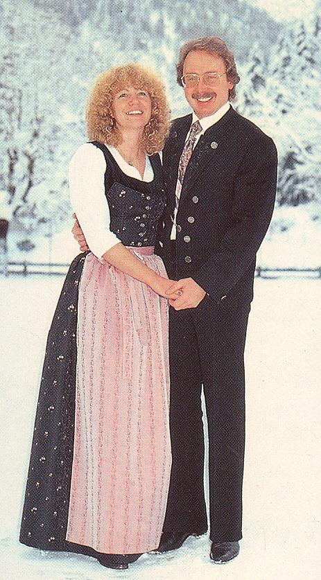 Albert Busek s manželkou Gaby