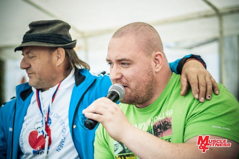 Komentátor Milan Gabrhel pustil k slovu i člena slovenského profi tímu Mareka Kmoška.