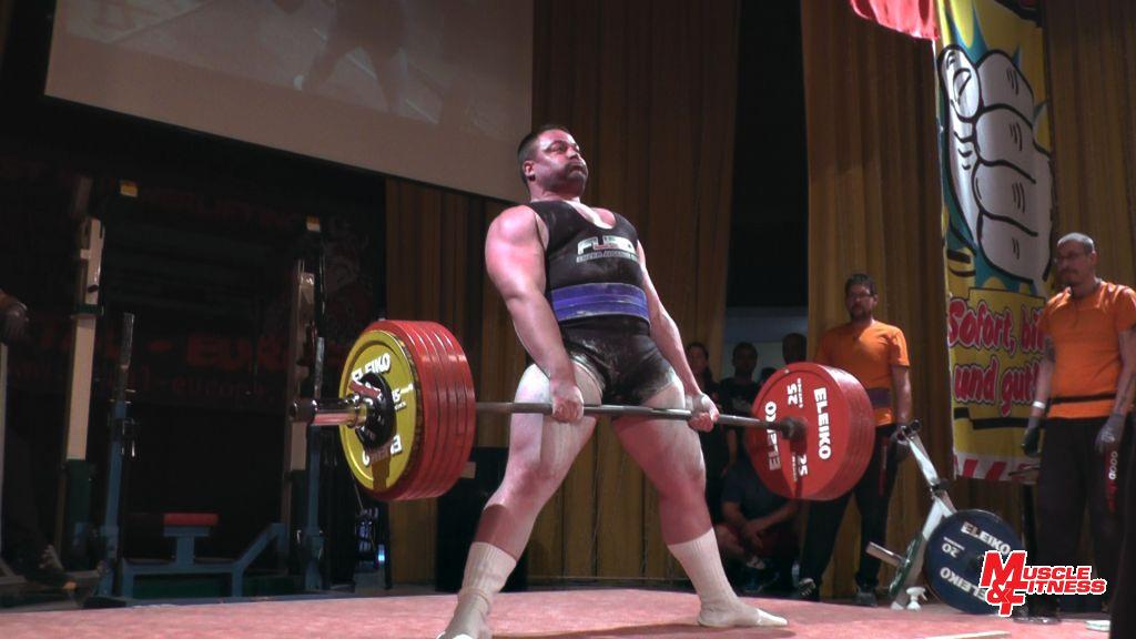 Martin Košnar (mrtvý tah 310 kg)