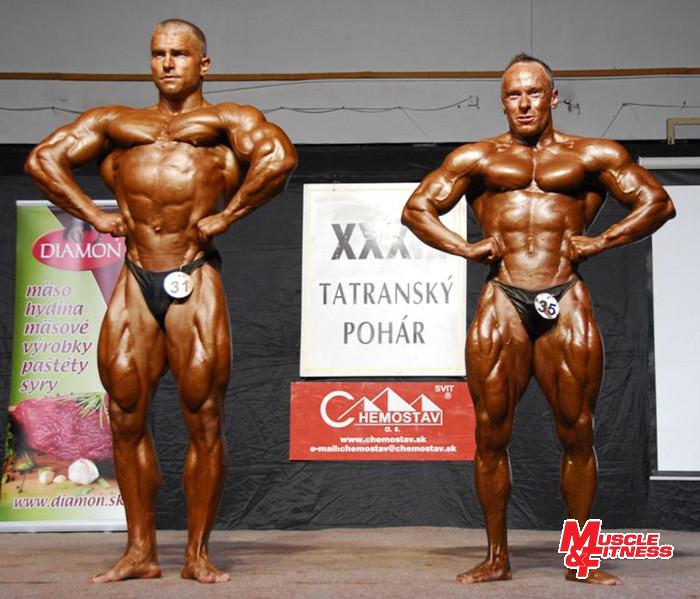 Súboj o absolútne prvenstvo medzi Tatarkom (vľavo) a Kočišom.