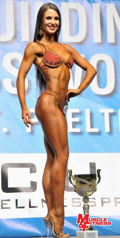 Celkové prvenství v bikini fitness získala Alla Semenova z Ukrajiny.
