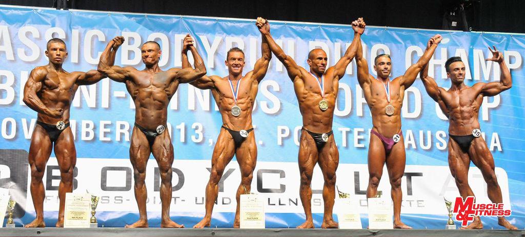 Do 171 cm: 6. Reinart, 4. Baškatov, 2. Thacker, 1. Yarali, 3. Giansante, 5. Akbari.