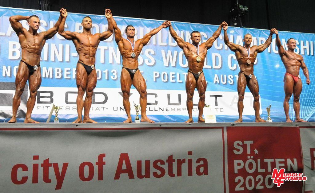 Nad 180 cm: 6. Kolkowski, 4. Maliňák, 2. Valipour, 1. Kucharčuk, 3. Kornalewski, 5. Schober.