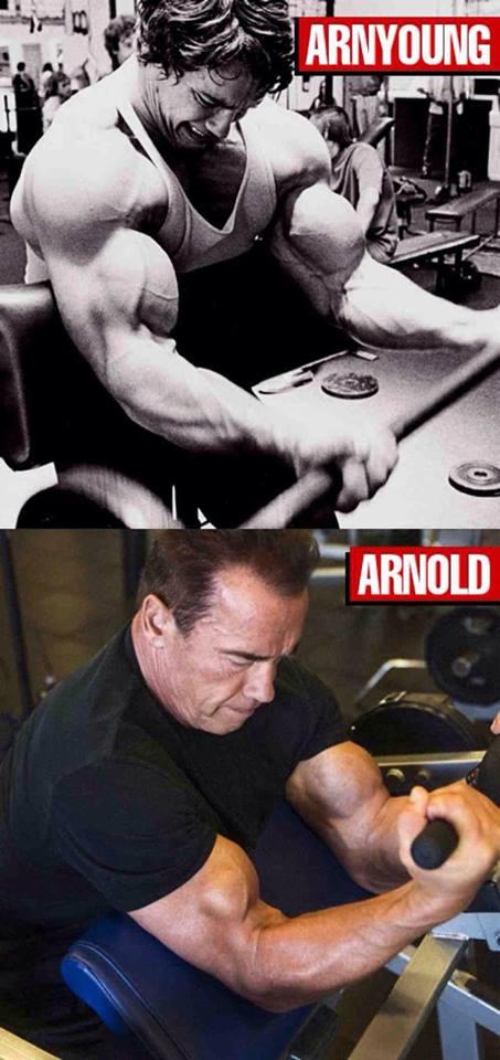 Arnold - kdysi a nyní