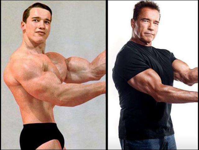 Arnold - rozdíl 50 let.