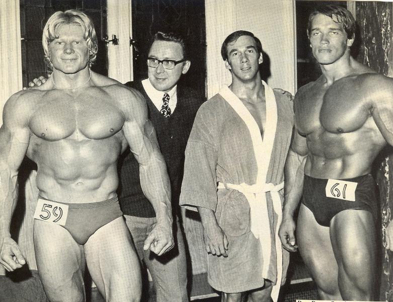 Arnold s Draperem - NABBA 1970