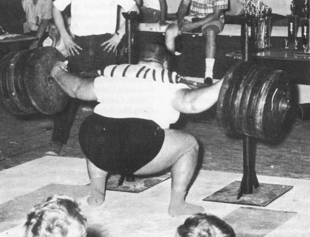 Anderson - Dřep 420kg