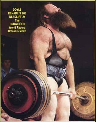 Kenady - rekord 410 kg