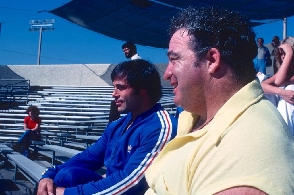 Anderson a Franco Columbu