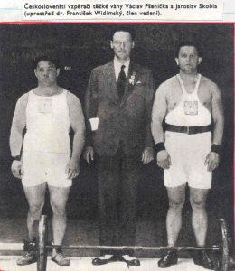 Skobla(vpravo), Pšenička(vlevo) na OH 1932