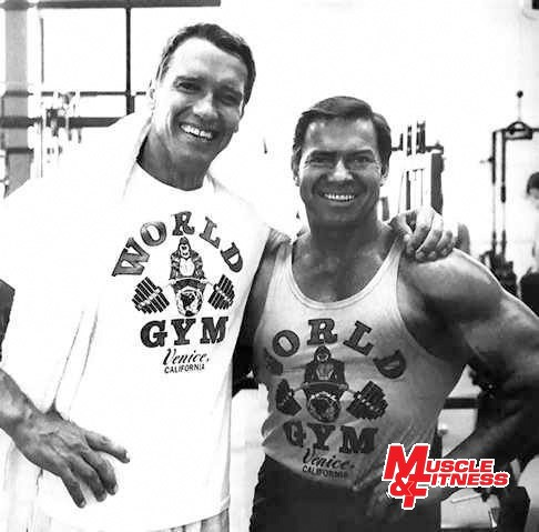 Larry Scott a Arnold