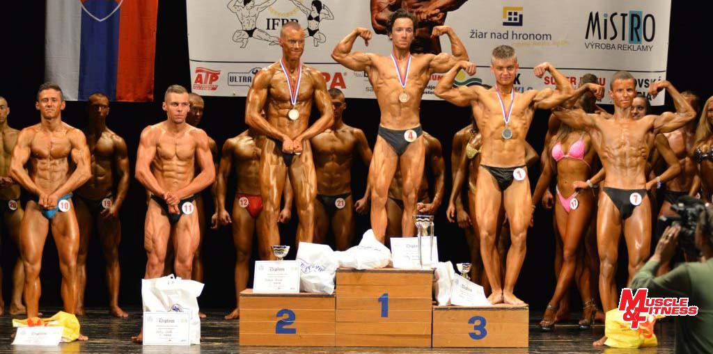 Finalisti kategórie do 65 kg (zľava): 6. Dávid Griger, 4. Ondrej Gážik, 2. Frederik Pardavý, 1. Michal Valaštek, 3. Roman Slamčík, 4. Ondrej Gážik.