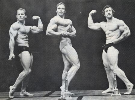 Frantz (vpravo) - Mr.USA