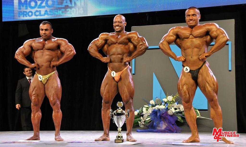 Víťazné trio: Almohsinawi, Al Haddad, Čambal.